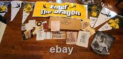 ENTER THE DRAGON / Original Movie Theater Promotion Kit with banner, Bruce Lee