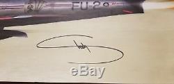 Eminem Slim Shady Signed Kamikaze Lithograph Poster 12x24 Autograph