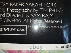 Evil Dead Horror Movie One Sheet 27x41 Poster