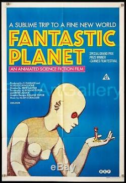 FANTASTIC PLANET rare style 1 sheet poster LA PLANETE SAUVAGE filmartgallery