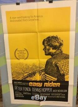 FONDA, PETER Easy Rider 1969 Original Movie Poster