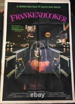 Frankenhooker!'90 Rare Cult Original U. S. 1sh Film Poster