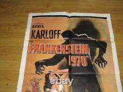 Frankenstein 1970 Original 1sh Movie Poster