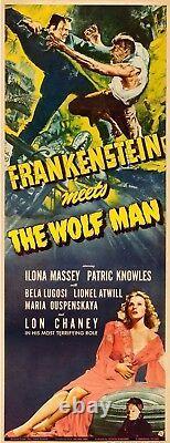 Frankenstein Meets the Wolf Man (Universal, 1943) Insert (14 X 36)