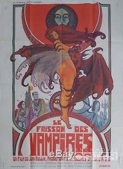 Frisson Des Vampires / The Shiver Of The Vampires Druillet / Rollin Original