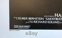 GHOSTBUSTERS 1984 ORIGINAL MOVIE FILM CINEMA POSTER US-1 sheet Bill Murray