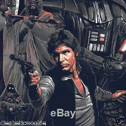 Gabz Star Wars Original Trilogy Movie Art print poster Bottleneck Gallery Mondo