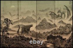 Godzilla King of Monsters Alternative Movie Poster Daniel Nash #/185 NT Mondo