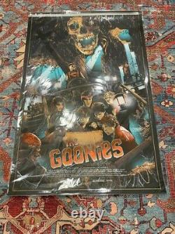 Goonies by Vance Kelly Limited Edition Screen Printed Movie Poster Mondo