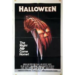 HALLOWEEN Original 1sh Movie Poster 27x41 1979 John Carpenter