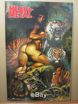 HEAVY METAL 1999 ORIGINAL Vintage science fiction and fantasy movie Poster 1489