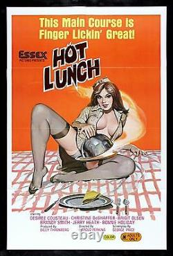 HOT LUNCH CineMasterpieces MOVIE POSTER 1978 ADULT X RATED KITCHEN FOOD YUMMY