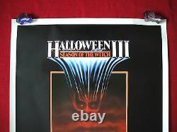 Halloween 3 III 1982 Original Movie Poster 1sh Rolled Season Of The Witch Mask