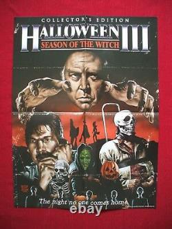 Halloween III 3 Original Movie Poster Season Of The Witch Scream Factory Masks