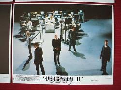 Halloween III 3 Season Of The Witch 1982 Original Movie Poster Lobby Cards Set