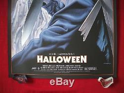 Halloween Poster Art.Halloween Mondo Original Movie Poster Art Print Michael
