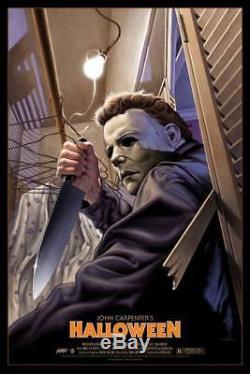 Halloween Variant Mondo Original Movie Poster Art Print Edmiston Limited /70