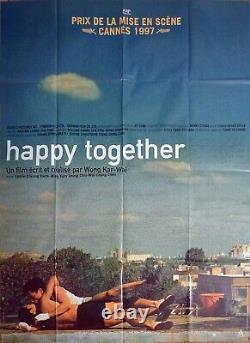 Happy Together Wong Kar Wai Cheung / Leung Original Large Movie Poster