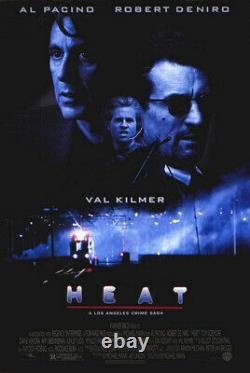 Heat (1995) Movie Poster, Original, SS, Unused, NM, Rolled