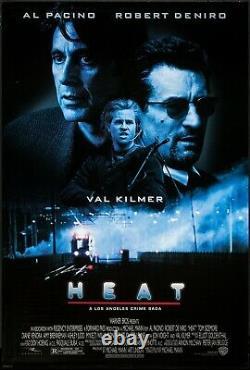 Heat (1995) Original Movie Poster Rolled