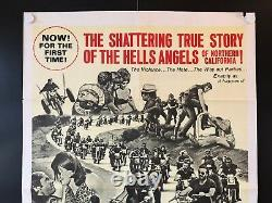 Hells Angels on Wheels Original One Sheet Movie Poster 1967 27 x 41 EX