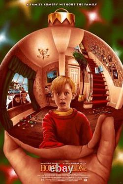 Home Alone Alternative Movie Poster Art by Adam Rabalais #/95 NT Mondo