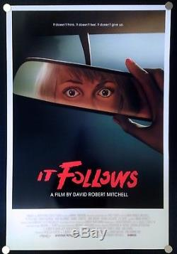 It Follows 2015 Original Movie Poster One Sheet International Version VERY RARE