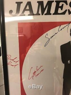 James Bond 007 Autographed Poster VERY RARE My Loss is Your Gain