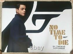 James Bond No Time To Die Original Quad Cinema Poster 5 Set Characters. Rare