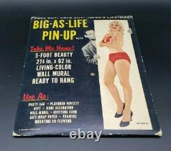 Jayne Mansfield Original 1956 Style Pin Up Poster with Packaging BIG-AS-LIFE