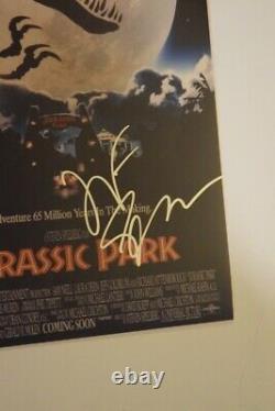 Jeff Goldblum Signed Autograph 11x17 Movie Poster JURASSIC PARK Beckett BAS COA