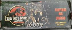 Jurassic Park The Lost World Movie Banner Poster 1997 Rare Huge, 5 feet long