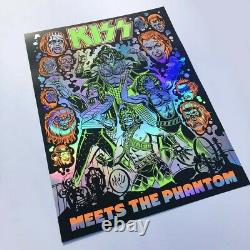 KISS Meets the Phantom 18 by 24 Signed Screenprint Poster TV Movie