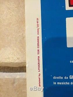 KISS ORIGINAL 1978'ATTACK OF THE PHANTOMS' ITALIAN MOVIE POSTER not a reprint