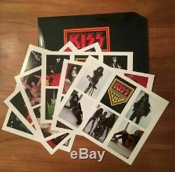 KISS The Originals 3 Picture Disc BOX, 3 shows, 3 posters, cards, book