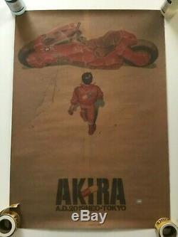 Katsuhiro Otomo AKIRA MOVIE KRAFT Promotional Print Poster B2 Kodansha JAPAN
