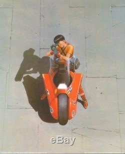 Katsuhiro Otomo AKIRA MOVIE Poster 1000 Editions MOTORBIKE JAPAN SPAIN KANEDA