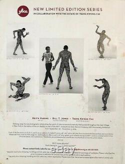 Keith Haring Rare and Original Dancing Man Into 84 litho, picture, and booklet
