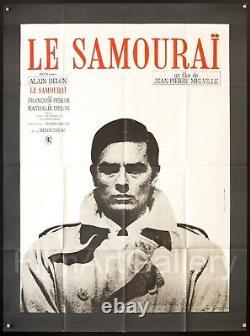 LE SAMOURAI 1967 French 46x62 Alain Delon Jean-Pierre Melville filmartgallery