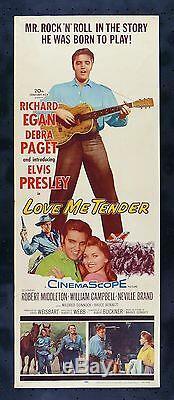 LOVE ME TENDER CineMasterpieces ORIGINAL MOVIE POSTER ELVIS PRESLEY 1956