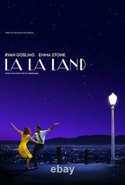 La La Land Advance Original Movie Poster Two Sided 27x40