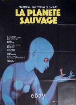 La Planete Sauvage Fantastic Planet Laloux -rare Original Large Movie Poster