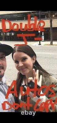 Lana Del Rey Signed Poster