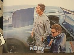 Le Mans 66 Original teaser UK Quad Cinema Poster Ford V Ferrari 2019 original