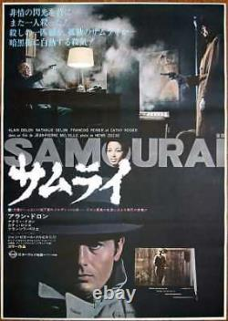 Le SAMOURAI The GODSON Japanese B2 movie poster ALAIN DELON JEAN-PIERRE MELVILLE