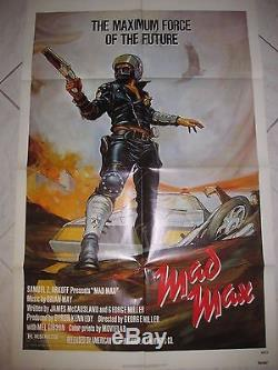 MAD MAX 1979 Original SS 27x41 US One Sheet Movie Poster M Gibson George Miller