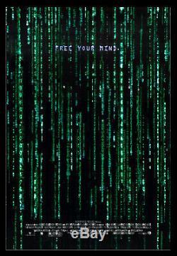 MATRIX RELOADED CineMasterpieces HOLOFOIL HOLOGRAM MOVIE POSTER FREE YOUR MIND