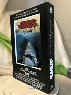 McFarlane Toys JAWS 3-D Movie Poster Art Figure Statue 2006 -No Original Box