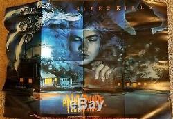 NIGHTMARE ON ELM ST U. K. Original quad cinema vintage Film movie poster 30x40
