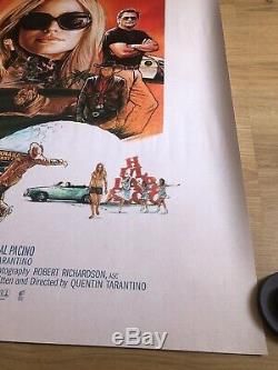 Once Upon A Time In Hollywood Original Cinema Quad Poster Quentin Tarantino